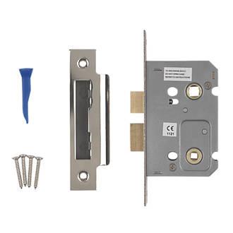 Smith Locke Polished Chrome Bathroom Mortice Lock 65mm Case 44mm Backset Mortice Locks Screwfix Ie