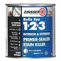Zinsser Bulls Eye 1-2-3 Primer-Sealer 1Ltr
