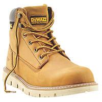 DeWalt Pittsburgh   Safety Boots Dark Honey Size 10