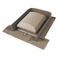 Glidevale Universal Tile Ventilator Brown