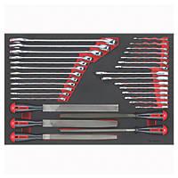 Teng Tools Spanner & File Set 32 Pieces