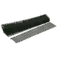 FloPlast  Gutter Guards 100mm Black 10 Pack