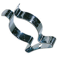"""Zinc-Plated Tool Clips ½"""" 10 Pack"""