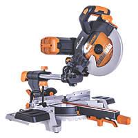 Evolution R255SMS-DB 255mm  Electric Double-Bevel Sliding Mitre Saw 110V