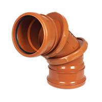FloPlast Adjustable Bend 0-90° 110mm