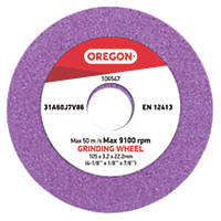Oregon Low Profile Replacement Grinding Wheel 105mm x 22.2mm x 3.2mm