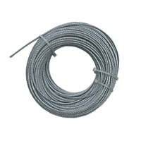 Greenbrook Catenary Wire Silver 3mm x 50m