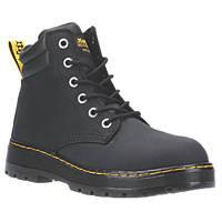 Dr Martens Batten   Safety Boots Black Size 9