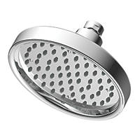 Cooke & Lewis Fixed Round Shower Head Chrome 152mm