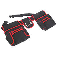 Tool Belt with Double Pouch 35½-57""