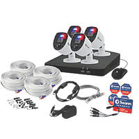 Swann SWDVK-84680SD4-EU 8-Channel DVR CCTV Kit & 4 Cameras