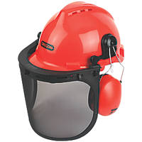 Oregon  Forestry Helmet with Ear Defenders & Visor