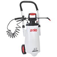 Solo SO453 Transparent Wheeled Trolley Sprayer 11Ltr