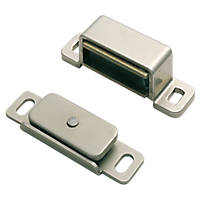 Carlisle Brass Magnetic Catch Nickel-Plated 15 x 14mm