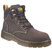 Dr Martens Brace   Safety Boots Brown Size 8