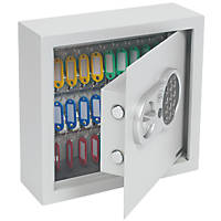 Smith & Locke 30-Hook Electronic Key Cabinet Safe