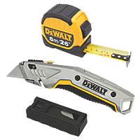 DeWalt Tape Measure & Utility Knife Pack