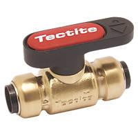 Tectite Sprint  Lever Ball Valve Brass 15mm