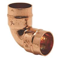 Yorkshire  Copper Solder Ring Equal 90° Elbows 22mm 2 Pack