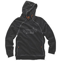 "Scruffs Trade Work Hoodie Black Large 44"" Chest"