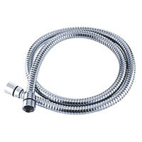 Triton Shower Hose Chrome 10mm x 1.5m