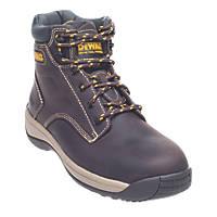 DeWalt Bolster   Safety Boots Brown Size 10