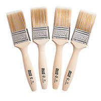 "Harris Trade Fine-Tip Brushes 2"" 4 Pack"