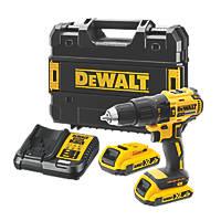 DeWalt DCD778D2T-GB  18V 2.0Ah Li-Ion XR Brushless Cordless Combi Drill