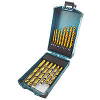 Erbauer Straight Shank HSS Drill Bits 25 Piece Set
