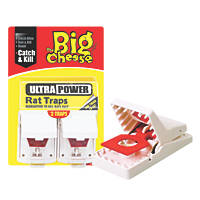 STV Pest Free Ultra Power Rat Traps 2 Pack