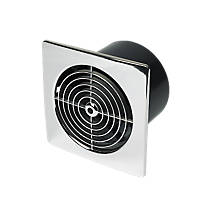 Manrose LP150STC 25W Kitchen Extractor Fan with Timer Chrome 240V