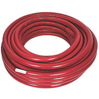 Purmo Pert/Al/Pert Press-Fit Insulated Multi-Layer Composite Pipe 26mm x 50m Red Insulation