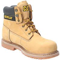 CAT Achiever   Safety Boots Honey Size 7