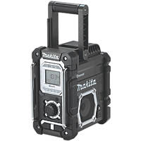 Makita DMR108B - Black AM / FM Electric Bluetooth Site Radio 240V