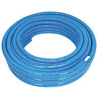Purmo Pert/Al/Pert Press-Fit Insulated Multi-Layer Composite Pipe 20mm x 50m Blue Insulation