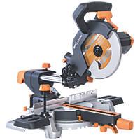 Evolution R210SMS 210mm  Electric Single-Bevel Sliding Compound Mitre Saw 230V