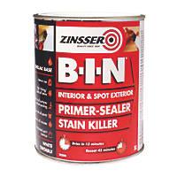 Zinsser B-I-N Shellac-Based Primer Sealer 1Ltr