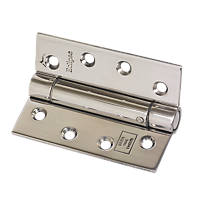 Eclipse Adjustable Self-Closing Hinges Fire Rated 102 x 76mm 2 Pack