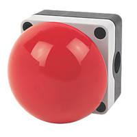 Hylec 1DE.SP.21NR-SF Red Push-Button Emergency Stop / Palm / Foot Button