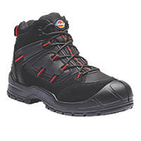 Dickies Everyday   Safety Trainer Boots Black / Red Size 9