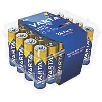 Varta Longlife Power AA High Energy Batteries 24 Pack