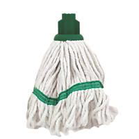 Bentley SF/HR/BS.35/G Pure Yarn Cotton Mop Head Green 5 Pack