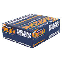 Goldscrew Plus PZ Double-Countersunk Multipurpose Screws 5 x 100mm 1000 Pack