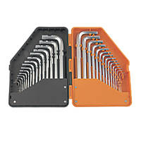 Magnusson  Metric & Imperial Hex Key Set 30 Pieces