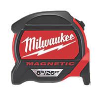 Milwaukee 48227225  8m Magnetic Tape Measure