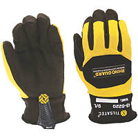 Tilsatec 49-6220 Rhinoguard Gloves Black / Yellow Large