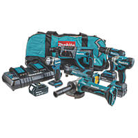 Makita DLX6100PX1 18V 3.0Ah Li-Ion LXT  Cordless 6 Piece Kit
