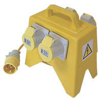 Carroll & Meynell Splitter Distribution Unit 4 x 16A Outlets 110V