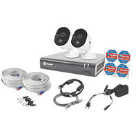 Swann SWDVK-445802V-EU 4-Channel 1080p CCTV DVR Kit & 2 Cameras