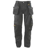 "DeWalt Richmond DWC116-004 Holster Work Trousers Charcoal Grey 36"" W 31"" L"